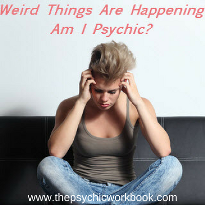 Weird Things Are Happening, I See Things, & Hear Strange Sounds