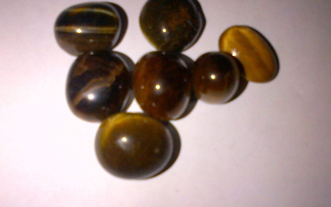 Tigers Eye Crystal Gemstone