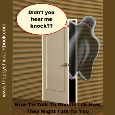how to talk to ghosts